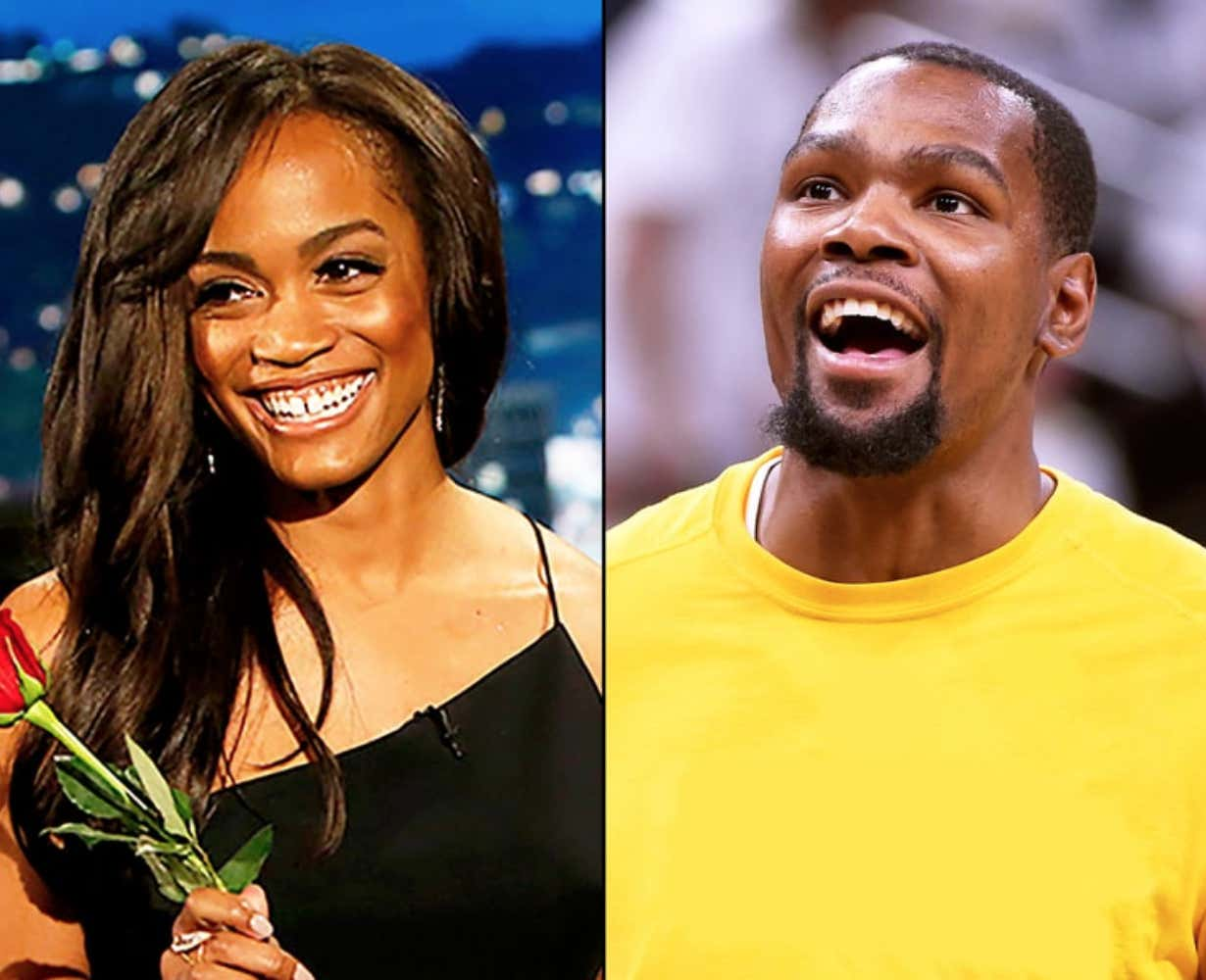 rachel the bachelorette reportedly dated kevin durant in college