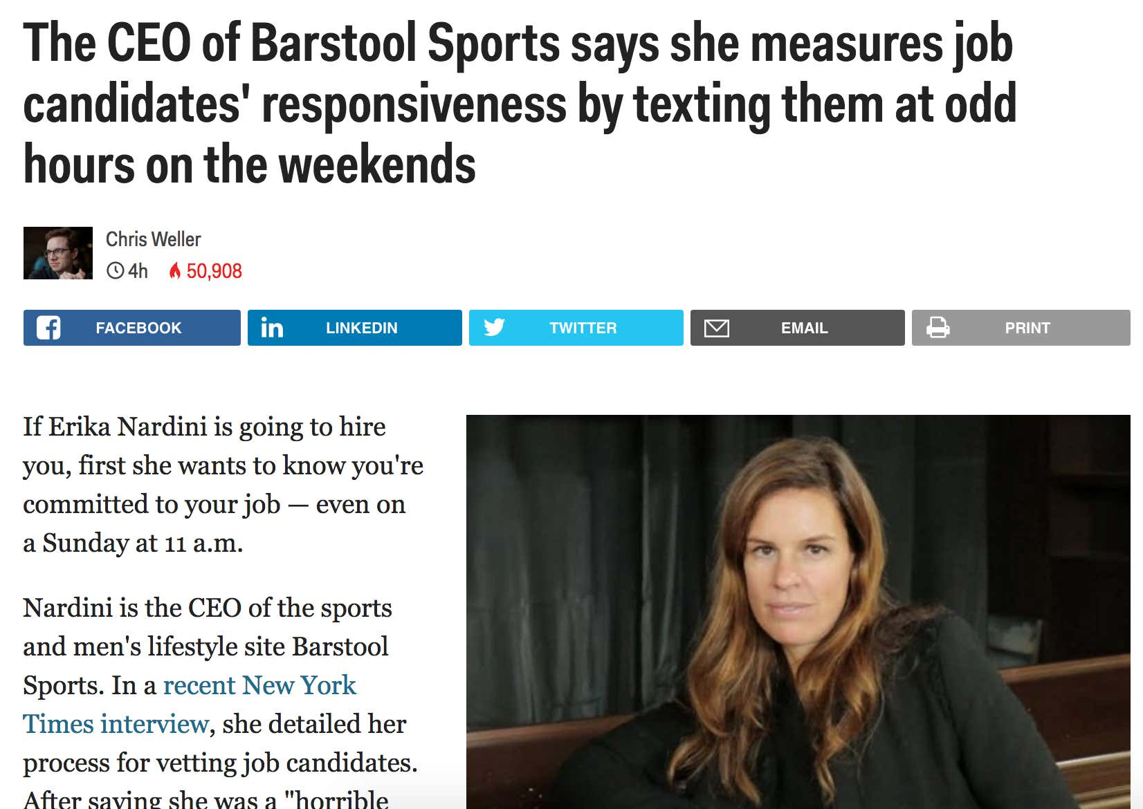 The Internet Is Mad We Work Too Hard At Barstool Sports Barstool