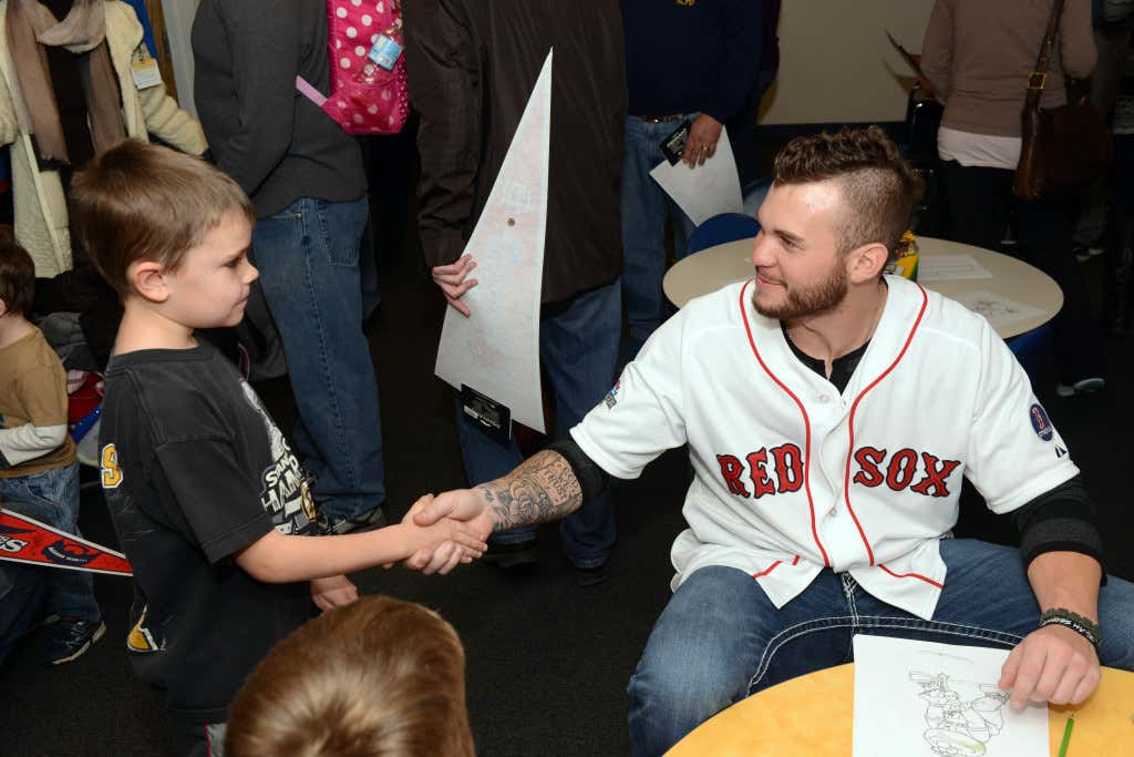 BCH Red Sox Holiday Visit