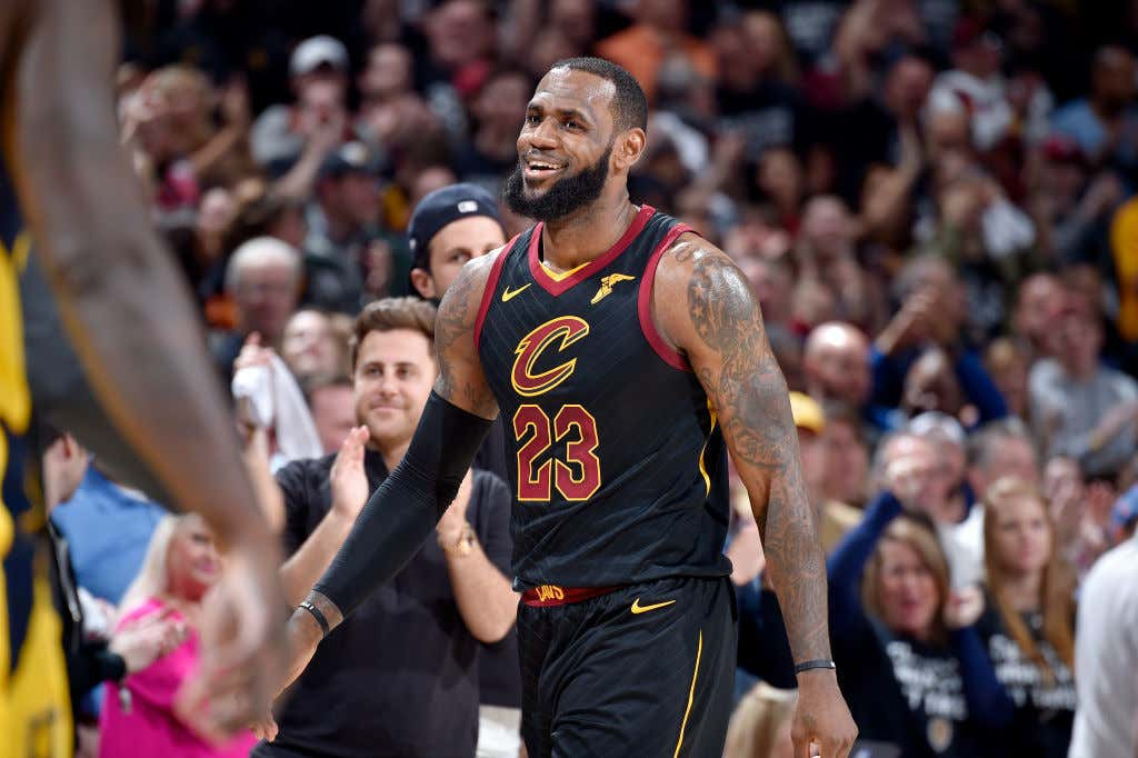 Image result for NBA playoffs 2018: LeBron James essentially needs rest after Cavaliers' Game 7 sway Pacers