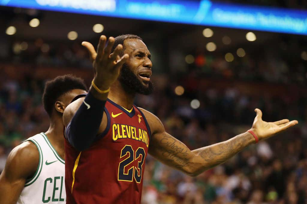 Lebron Tried This Time And Still Lost As The Celtics Go Up 2-0 - Barstool  Sports
