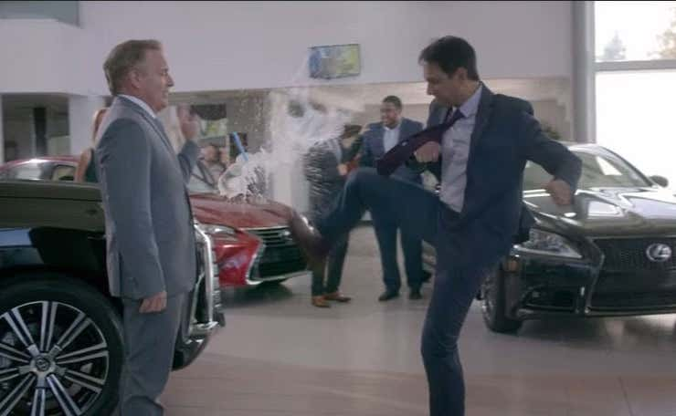 Car Dealership Boss Is Sued Over His Weaponized Farts And Nipple