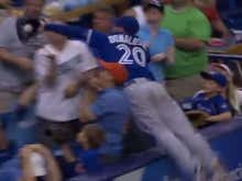 Wake Up With Josh Donaldson Leaping Into The Stands For A Great Catch
