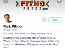 Rick Pitino Is Officially On Twitter Taking Jabs At Calipari - But, How Long Will He Last?