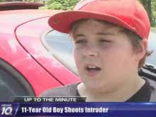 11 Year Old Shot A Home Invader And Then Made Fun Of Him For Crying Like A Baby