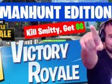 MANHUNT: Kill The Smitty In Fortnite, Win Money From The Bank Of Blockhead - Simple As That