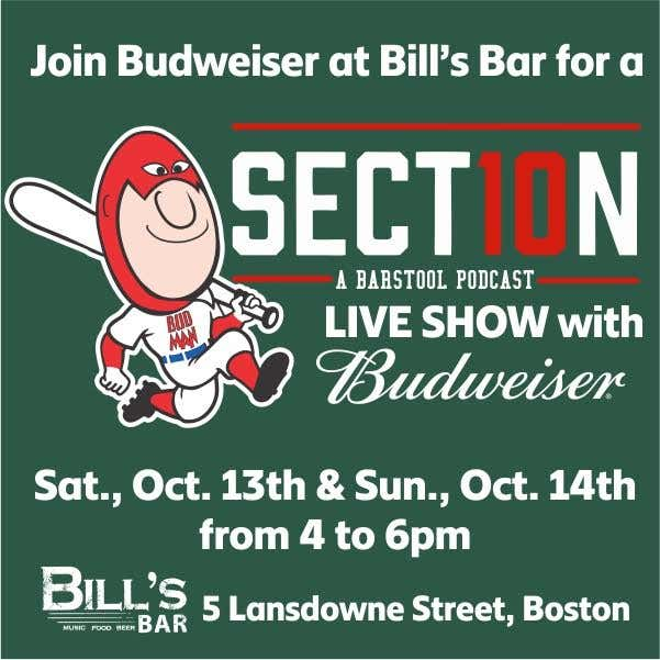Budweiser Presents Section 10 Live Before Games 1 And 2 Of The Alcs