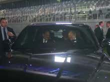 It's Super Weird Seeing Vladimir Putin Drive A Car