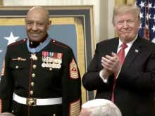 Trump Awards Medal Of Honor To A Marine For His Incredible Bravery During The Vietnam War