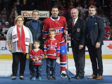 Say What You Want About Montreal's Management, But Bergevin And Molson Coming Out In Turtlenecks For Plekanec's 1000th Game Was Top Shelf