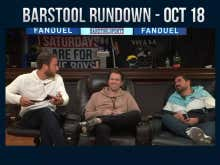 Barstool Rundown - October 18, 2018