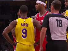 Rajon Rondo Punched CP3 In The Face