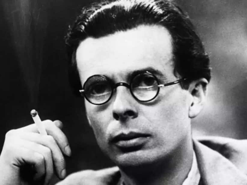 Author Aldous Huxley's Wife Gave Him A Shot of Uncut LSD On His Deathbed So He Could Trip Balls Into Death